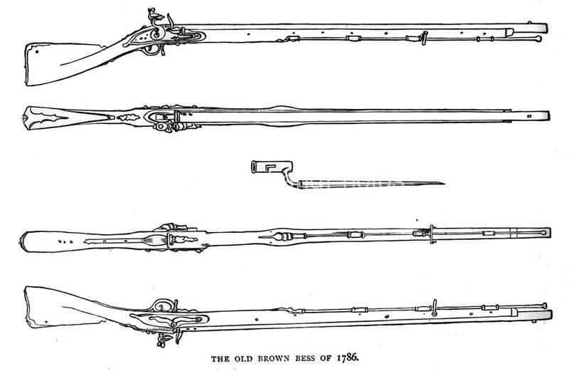 Weapons - Land - rifles - Brown Bess Musket 