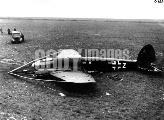 War - WWII - Germany - Luftwaffe - Heinkel He-111 H-8 cable